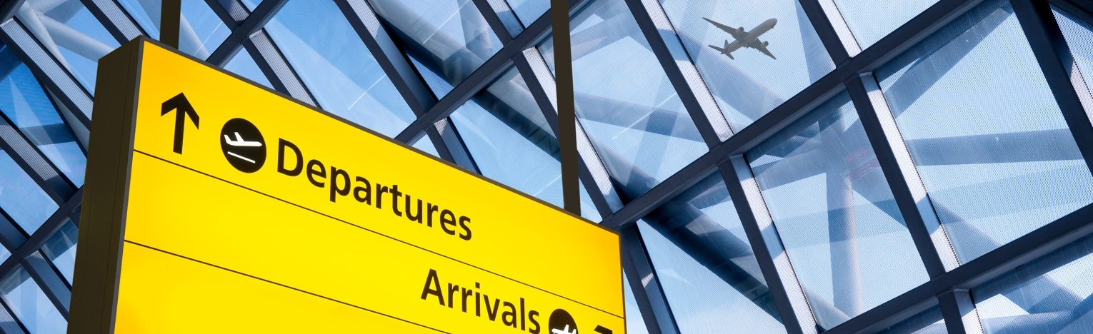 Airports We Service