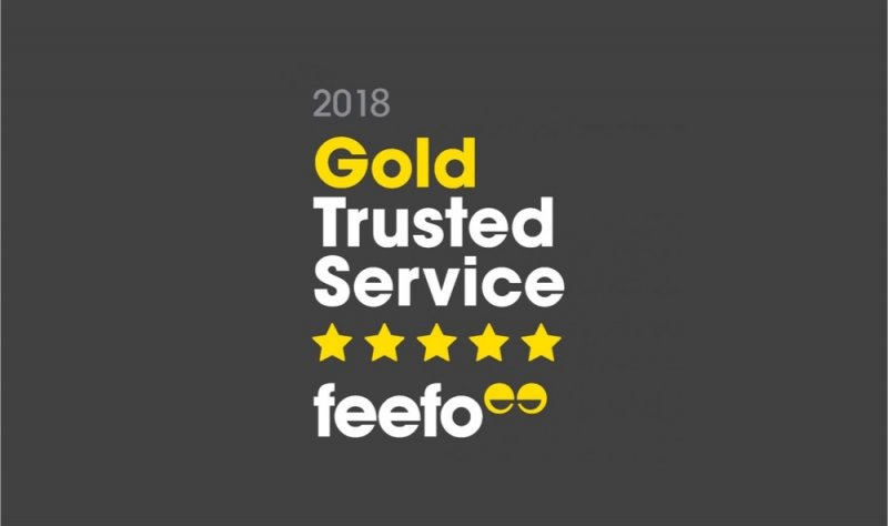 Maple Parking Feefo Gold Service Award