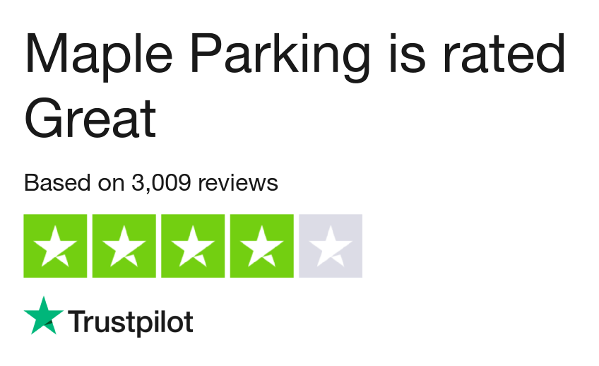 Maple Parking Reviews