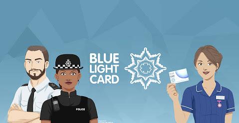 NHS Blue Light Card